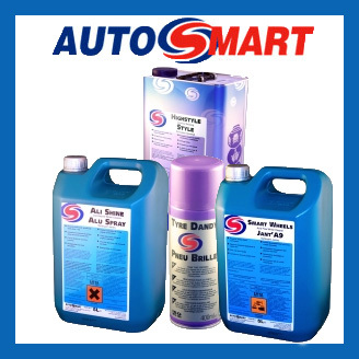 Autosmart Wheel & Tyre Care Range