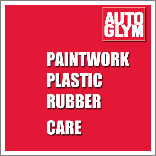 Autoglym Paintwork, Plastic and Rubber Care