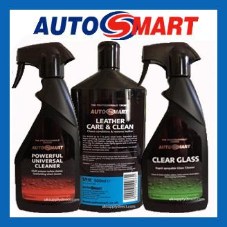 Autosmart Interior & Exterior Cleaning Range