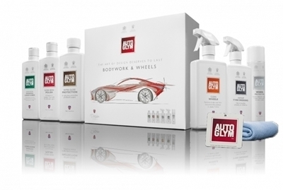 Picture of Bodywork & Wheels Autoglym Pack (Free cloth & hanging air freshener)